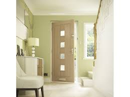 contemporary croft solid 4 light oak glazed internal view