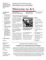 middle school art syllabus template. 7 Images of Editable Syllabus Template Middle School Art diygreatcom