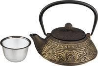 «<b>Заварочный чайник</b> чугунный с <b>эмалированным</b> покрытием ...