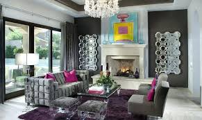 purple brown living room grey and designs ideas