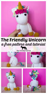 Crochet Free Patterns Inspiration Free Crochet Unicorn Pattern Thefriendlyredfox