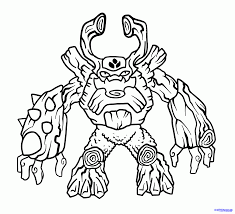 Small Picture Skylander Giant Coloring Pages For Kids And For Adults