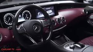 Mercedes S Class Coupe 4MATIC INTERIOR Price S500 2016 - Mercedes ...