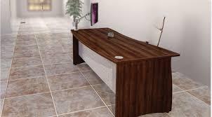 walnut office desks. Atmosphere, Double Wave Bow, Walnut Office Desks