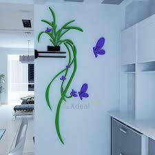3d vase flower removable vinyl diy wall sticker decal mural home room decor art 6 6 of 11