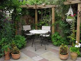 Small Picture Elegance Small Courtyard Gardens Design Corner Pergola Outdoor