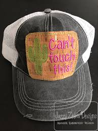 Machine Embroidery Designs For Hats Cactus Sketch Cant Touch This Patch For A Hat Embroidery Design Patch Embroidery Design Cactus Emboidery Design Saying Embroidery Design