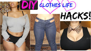 Upcycle Old Clothes Diy Clothes Life Hacks Diy Clothes Ideas From Old Clothes No