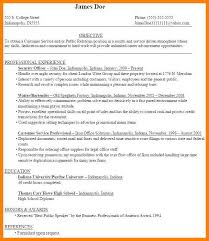 10 11 Resume Samples For College Graduates B10l Com
