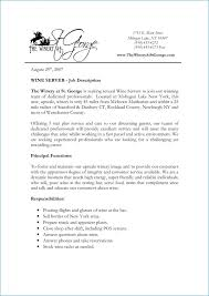 Resume For Servers Cashier Server Job Description For Resume Buffet Banquet