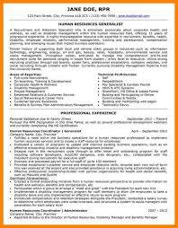 40 Human Resources Generalist Resume Samples Paigesivierart Interesting Human Resources Generalist Resume