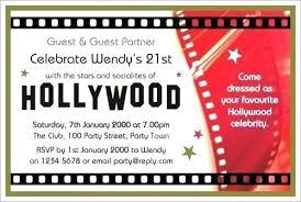 Movie Night Invitation Templates Movie Invitation Wording Movie Night Invitation Wording Invitation