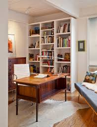 century office. 16 spectacular mid century modern home office designs for a retro feel