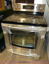samsung glass top stove image for item glass top electric cook stove samsung glass top stove