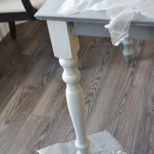 Painted Kitchen Table A Shabby Chic Farmhouse Table With Diy Chalk Paint The Diy Mommy