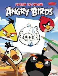 book learn to draw angry birds
