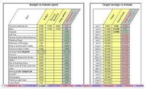 Details About Planning A Wedding Save Money Easy Spreadsheet Diy Organiser Budget Planner