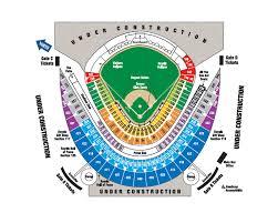 Kauffman Stadium Row Chart Kauffman Stadium Seating Chart With Seat Numbers Seating Chart