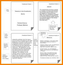 13 Apa Format For Paper Cover Sheet