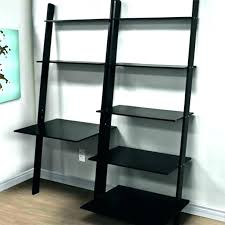 office furniture shelves. Leaning Bookcase And Desk Shelves With Shelf Computer Office Furniture Bookshelf White O