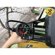Bơm Hơi Đạp Chân Đa Năng Mini Cho Ô Tô Xe Máy 1 Ống Bình Xanh chính hãng  150,000đ