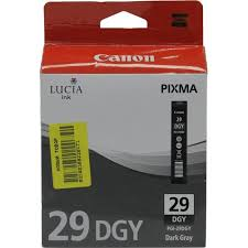 Оригинальный <b>картридж Canon PGI</b>-<b>29DGY</b> (темно-серый ...