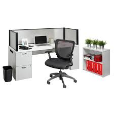 office in a box furniture. Office In A Box Desk With Privacy Screen And Bookcase Wayfair Nightingale Chairs. Home Decore Furniture R