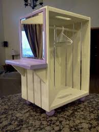 diy doll furniture. american girl closet with vanity diy diy doll furniture y