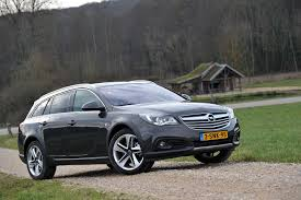 Opel Insignia Country Tourer autotest 2014 - YouTube