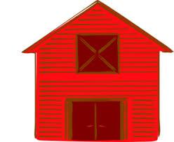 red barn clip art transparent. Red Barn Clip Art Transparent