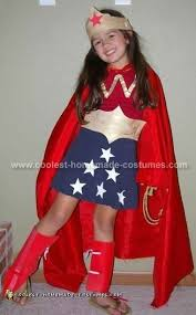 Wonder Woman Costume Pattern Inspiration Coolest Homemade Wonder Woman Costume Ideas