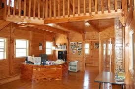 amish builders office at his cabin facility amish built home office