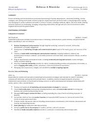 ... Communications Consulting Resume 022815. 703.963.3983 Rebecca A  Moericke 4837 Gainsborough Drive RMoericke@gmail.com Fairfax, ...
