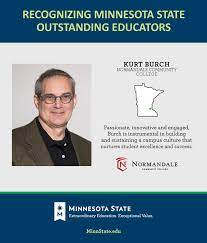 "Minnesota State on Twitter: ""Congrats Kurt Burch @normandale_cc!  #MinnStateBOTawards https://t.co/gQ94kuhUKK… """