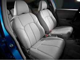 clazzio front row grey leather seat covers