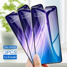 <b>3PCS Tempered Glass</b> For Xiaomi Redmi K20 Pro Note 8 Pro 7 Pro ...
