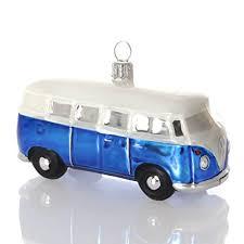 Hanco Christmas Jewelry Vw Bus Blue 105cm