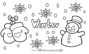 Small Picture Printable Winter Snowman coloring pages Printable Coloring Pages