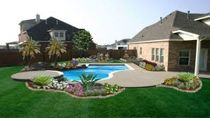 pool designs and landscaping. Pool Landscaping Ideas Visual Designs And Modern Gardens 2017 Enchanting Modest