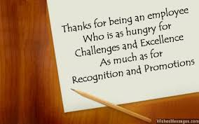 thank you messages for employees thank