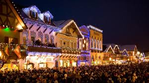Festival Of Lights Seattle Christmas Lighting Festival In Leavenworth Washington