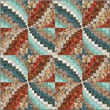 511 best quilt bargello images on Pinterest | DIY, Bargello quilt ... & Diane McGregor - Castilleja Cotton - Bargello Pinwheels - Timeless  Treasures - Tonga Copper Adamdwight.com