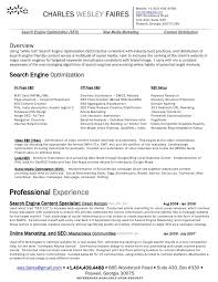 Resume Search Engines Free Best Of Search Engine Marketing Resume Tierbrianhenryco