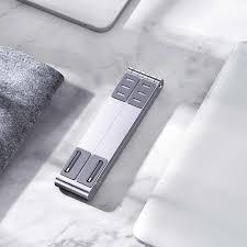 <b>Laptop Stand</b> Rack X Style <b>Adjustable</b> Foldable <b>Aluminum</b> Alloy ...