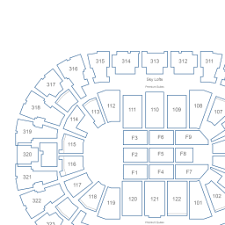 Bok Center Interactive Seating Chart