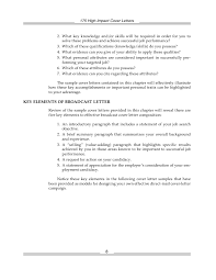 Elements Of A Good Cover Letter 100 high impact cover letter 92