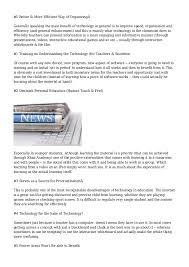 Essay Of Technology Advantages Disadvantages Modern Technology Essays Advantages And