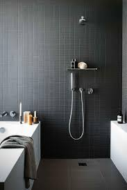 Black And White Tiles 10 Black White Bathrooms