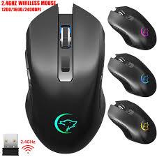 <b>G851 1200/1600</b>/<b>2400DPI 2.4GHz Receiver</b> Wireless Mouse ...