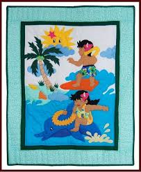 Hawaiian Baby Quilts For Sale Hawaiian Baby Quilt Fabric Hawaiian ... & Hawaiian Baby Quilts For Sale Hawaiian Baby Quilt Fabric Hawaiian Print Baby  Blanket Surfin Keiki Adamdwight.com
